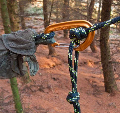 Knots For Hammocks by Ravenlore Bushcraft And Wilderness Skills Setting Up A