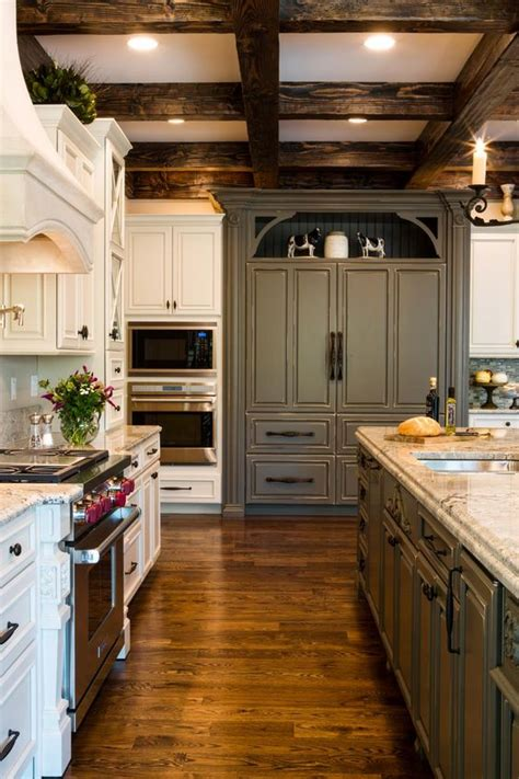 Don't forget about your kitchen ceiling! 36 Stylish And Timeless Coffered Ceiling Ideas For Any ...