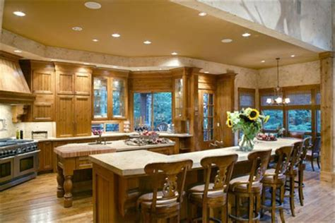 house plans with big kitchens featured house plan pbh 5555 professional builder