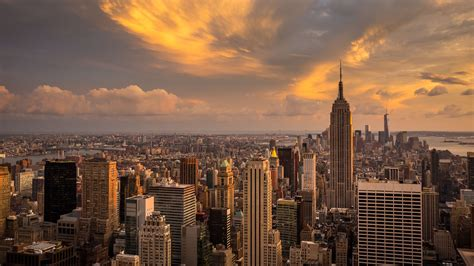 luxury nyc skyline desktop wallpaper new york wallpaper