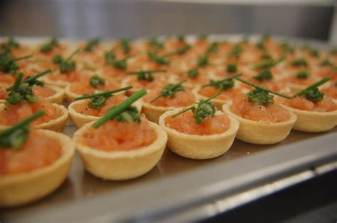 canape s salmon canapes recipe dishmaps