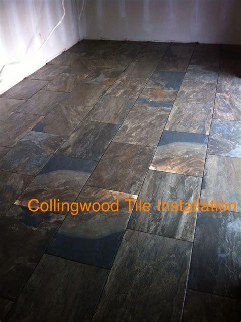 porcelain tile made to look like slate   Collingwood Tile