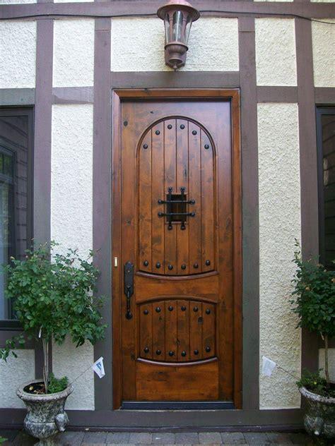 18 Cool Ideas Of Hardwood Front Door  Interior Design