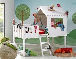 Lit Cabane Au Sol : le lit mi hauteur un couchage mais pas que ~ Premium-room.com Idées de Décoration