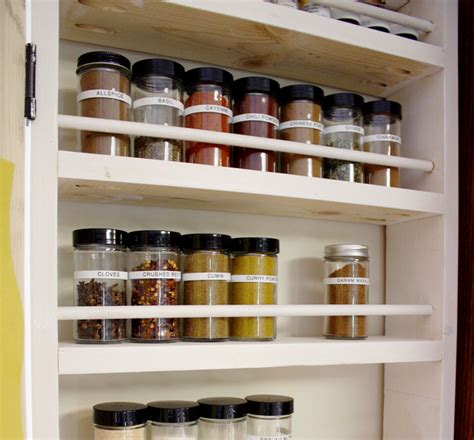 How To Build A Spice Rack how to build a diy spice rack