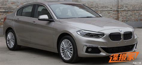 Bmw I Series by New Photos Of 2017 Bmw 1 Series Sedan For China Will Get