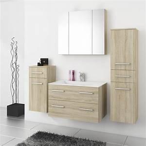 Badmöbel Set 80 Cm Breit : badezimmer set 80 cm design ~ Indierocktalk.com Haus und Dekorationen