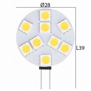 Led 2 5 Watt Entspricht : led lampe 12 24 volt g4 gu4 1 8 watt flach entspricht 10 15w ~ Markanthonyermac.com Haus und Dekorationen