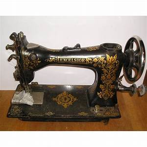 Ancienne Machine A Coudre : machine coudre ancienne excelsior broc23 ~ Melissatoandfro.com Idées de Décoration
