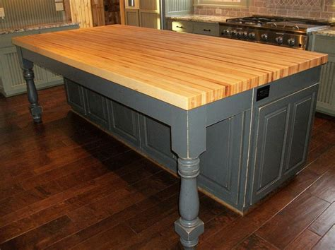 kitchen table islands 1000 ideas about butcher block island on
