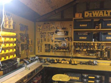 Garage Organization Workshop Tools by My Shop Dewalt Garage Tools Garage Tool Organization