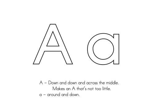 letter formation kindergarten letter formation
