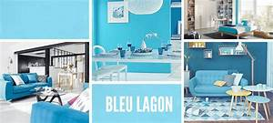 3 nuances de bleu pour booster votre deco With association de couleur avec le bleu 3 de la couleur au sol elle decoration