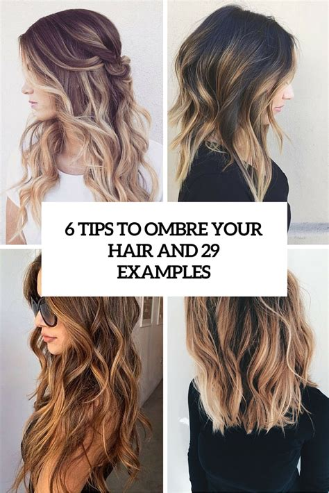 How To Do Ombre Hair by 6 Tips To Ombre Your Hair And 29 Exles Styleoholic