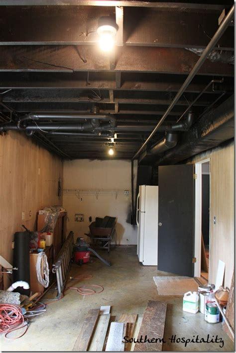 painting  industrial ceiling black