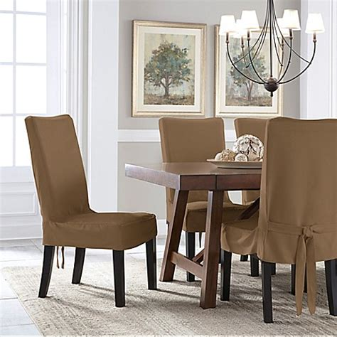 Perfect Fit® Smooth Suede Relaxed Fit Dining Chair Short