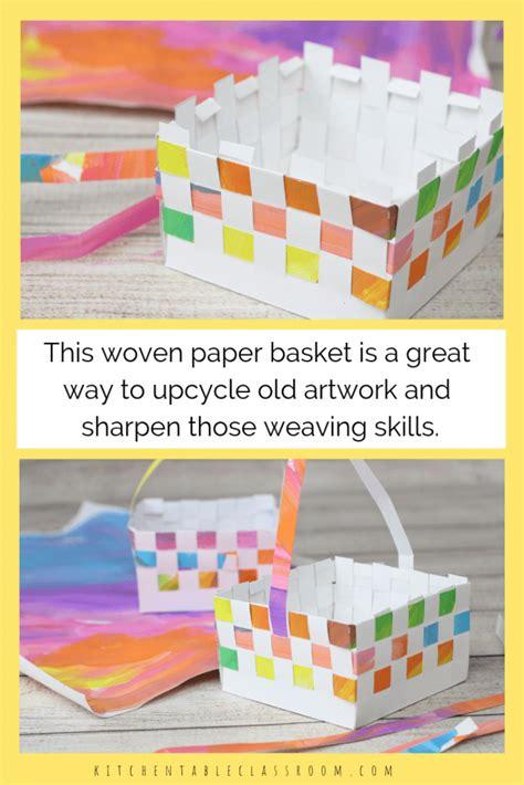 paper basket paper basket weaving