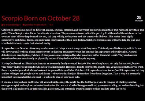 scorpio birthday quotes quotesgram