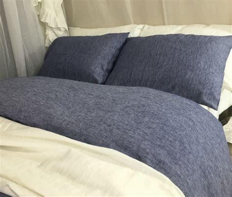 denim duvet cover chambray denim duvet cover linen chambray