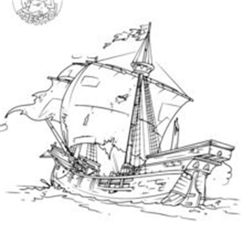 Barco Roto Dibujo by Dibujos Para Colorear Espa 241 A Es Hellokids