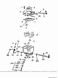 Carburetor Parts Group Diagram  U0026 Parts List For Model