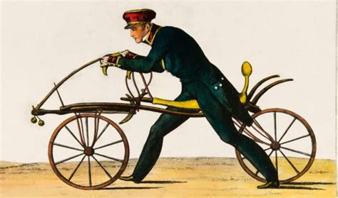 How The Bicycle Got Off To A Running Start In 1817 Afrcom
