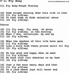 Song I Ll Fly Away  With Lyrics For Vocal Performance And Accompaniment Chords For Ukulele