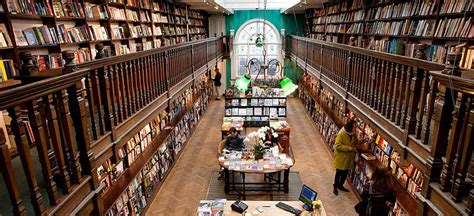 Turning The Page Top 10 Coolest Bookshops In Britain To