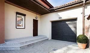 prix dune porte garage motorisee et pose With prix pose porte de garage sectionnelle motorisée