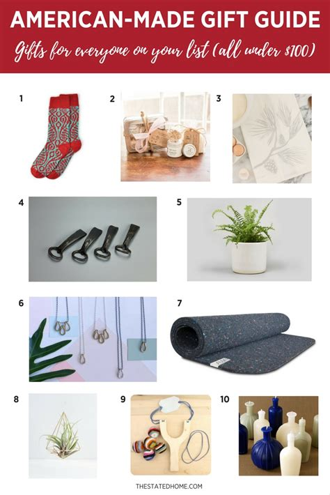 made in america gifts our 2017 gift guide the stated home