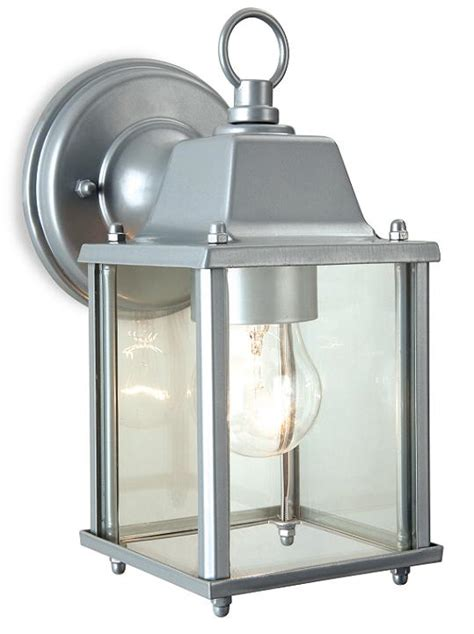 firstlight coach outdoor suspended wall lantern silver