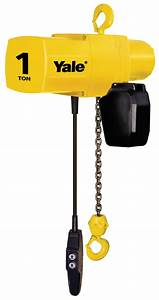 Yale Yjl Electric Chain Hoist 1  2 Ton