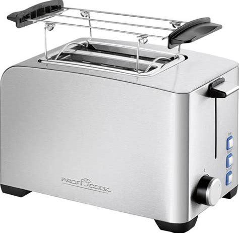 toaster mit integriertem brötchenaufsatz toaster mit br 246 tchenaufsatz profi cook pc ta 1082 edelstahl schwarz kaufen