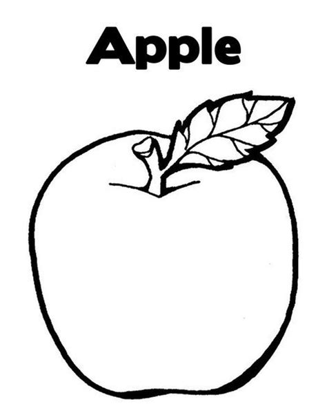 Coloring Fruit by Fruit Coloring Pages For Childrens Printable For Free