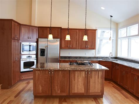 kitchens with light cabinets kitchen with cherry cabinets kitchen wallpaper