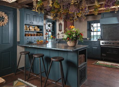 10 Colorful Kitchens  Town & Country Living