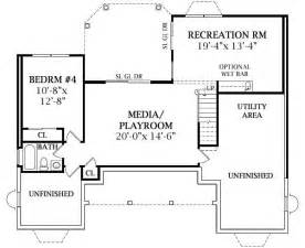 ranch style floor plans with basement lewisburg ranch 2808 3 bedrooms and 2 5 baths the house designers