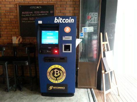 Asia's 1st public bitcoin vending machine. First machine in Singapore to return cash for Bitcoin ...