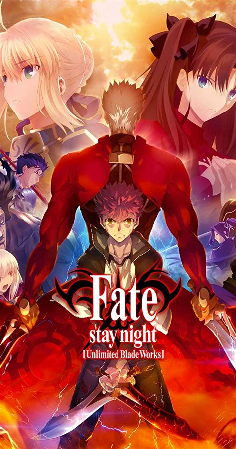 fatestay night unlimited blade works tv series