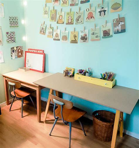 kids desk for two desk ideas for kids rooms