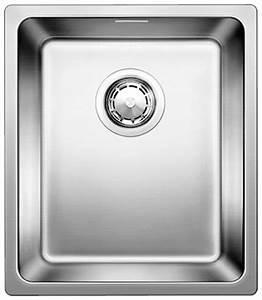 Evier 1 Bac Inox Sans Egouttoir : evier inox 1 bac semi affleurant blanco blancoandano ~ Premium-room.com Idées de Décoration