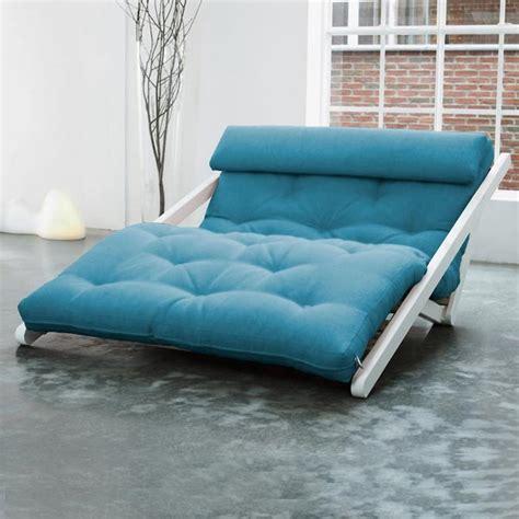 futon canapé canapé convertible méridienne chaise longue très design