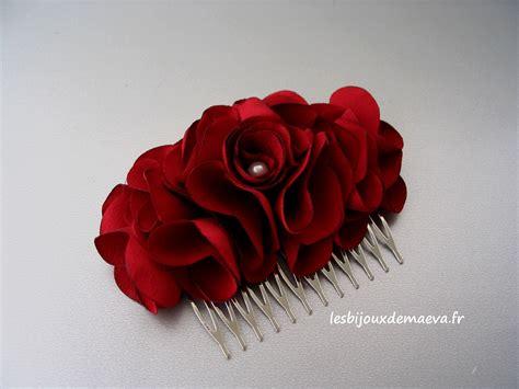 quelle fleur pour cheveux mariage fleur cheveux bordeaux pour mariage 233 lia