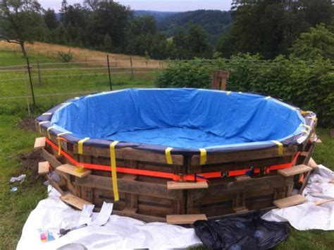 How To Build Your Own Swimming Pool Out Of Pallets Others