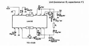 La4192 Bridge Amplifier 5w Circuit Diagram