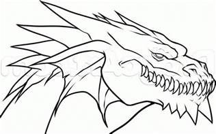 Cool Easy Dragon Drawings