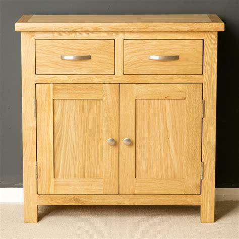 Low Wooden Sideboard by Oak Mini Sideboard Modern Oak Small Cupboard With