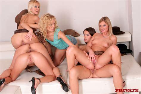 Free Blonde Porn Huge Lesbian Orgy From Si XXX Dessert