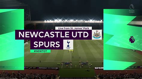 ⚽ Newcastle United vs Tottenham Hotspur ⚽   Premier League ...