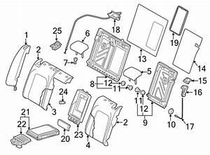 Volkswagen Cc Release  Lever  Handle  Seat Back  2013